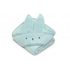 Bambusowy ręcznik powder pink króliczek