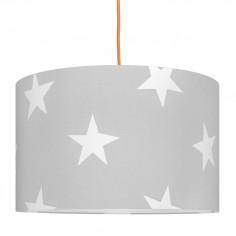 Lampa Sufitowa Gwiazdy na Szarym
