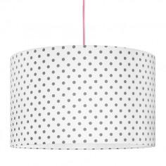 Lampa Sufitowa Kropki Szare