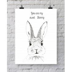 Ilustracja Bunny