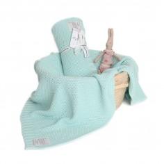 Kocyk tkany CottonClassic Mgła